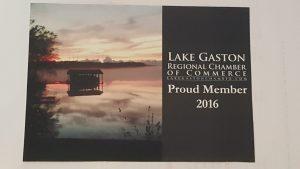 2016 Lake gaston Chamber of Commerce